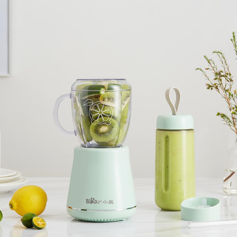 10月19日最新优惠小熊榨汁机家用小型水果多功能迷你便携式榨汁杯果汁杯电动炸汁机