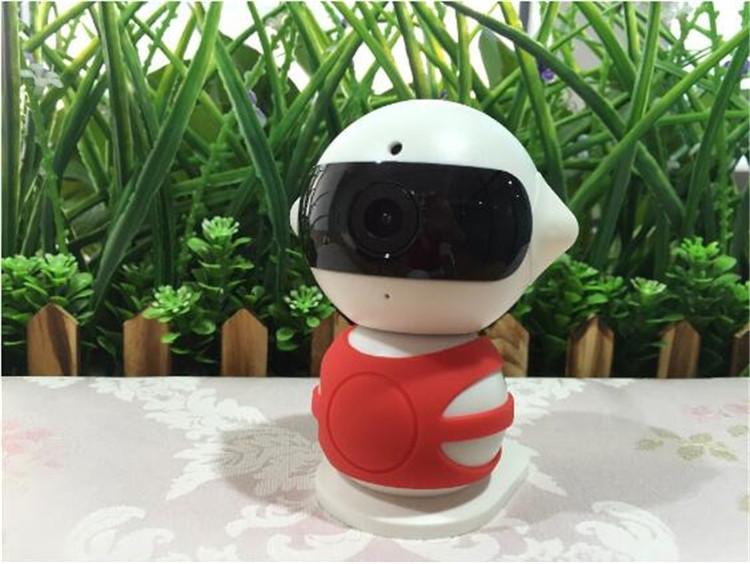 无线智能网络摄像头wifi家用高清移动侦测摄像机手机远程小机器人