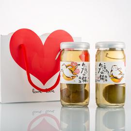 预售2.6日醉鹅娘 夕凉的猫完熟梅酒酸甜梅子酒双支装 礼盒装图片