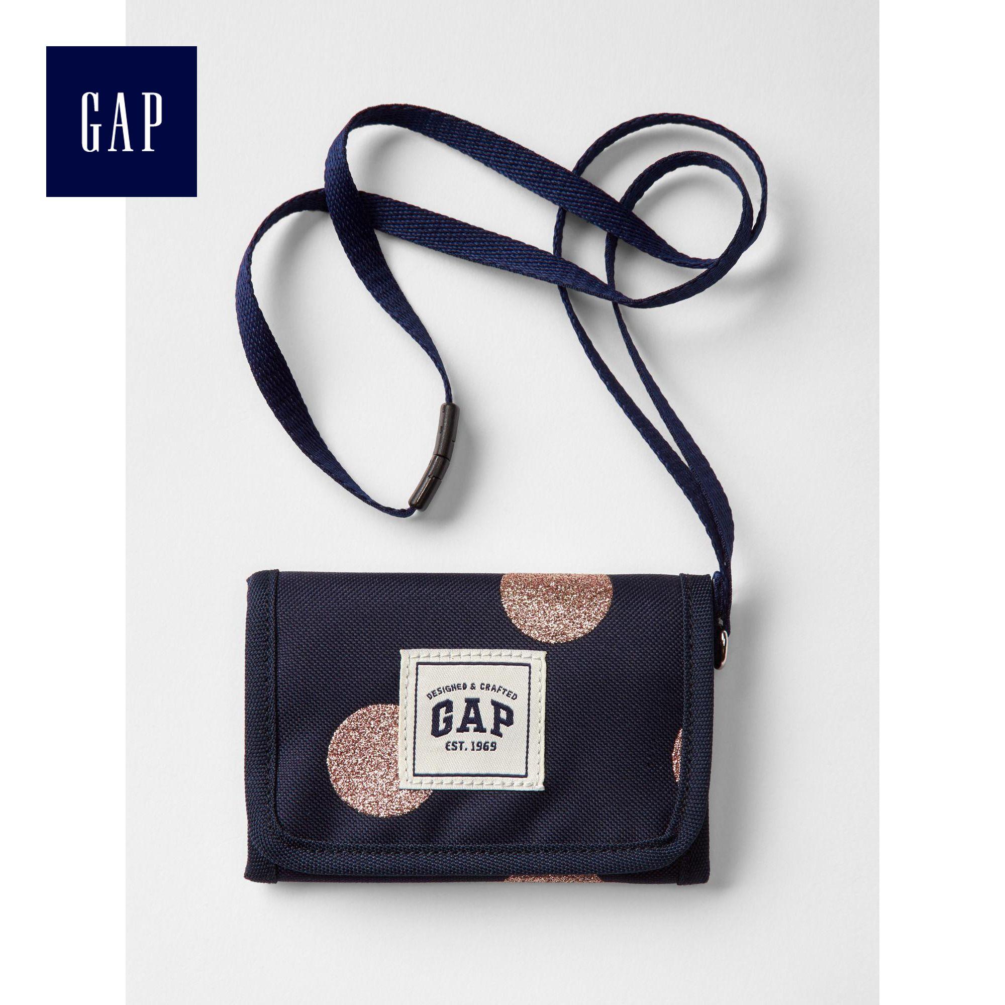 Gap女童 閃亮風格錢包198014