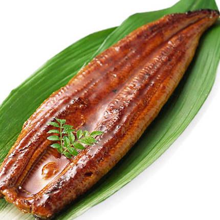 蒲式烤鳗鱼蒲烧鳗鱼整条活寿司烤鳗