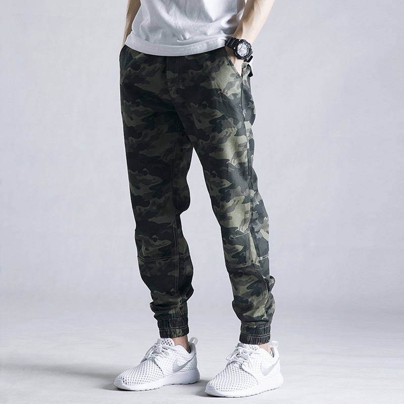 Autumn and winter camouflage pants Leggings mens fashion brand large loose overalls pants pants
