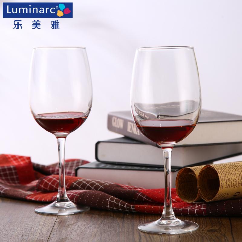 法國弓箭樂美雅紅酒杯 玻璃杯酒杯酒杯高腳杯無鉛 葡萄酒杯470ml