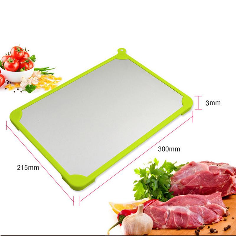 正品食物急速快速神奇解冻板日本解冻盘创意砧板厨房用品刀具包邮
