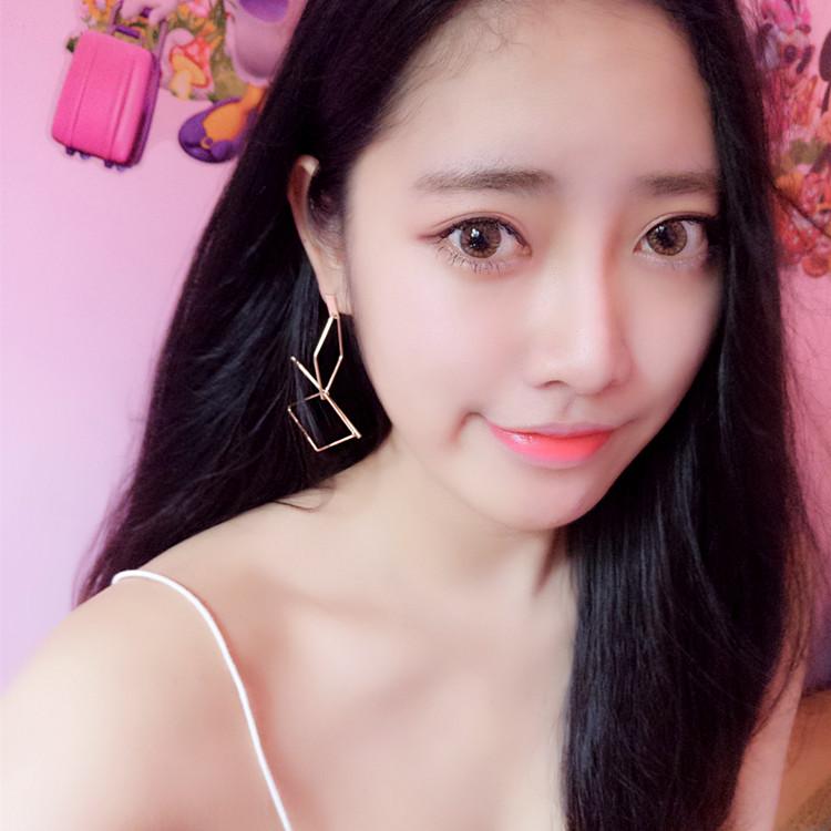 Boucles oreilles femme en Alliage / argent / plaqué or - Le Japon et la Corée du Sud - Ref 1114101 Image 2