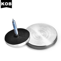KOB brand Stainless steel decorative nail flat glass mirror nail advertisement screw acrylic mirror nail