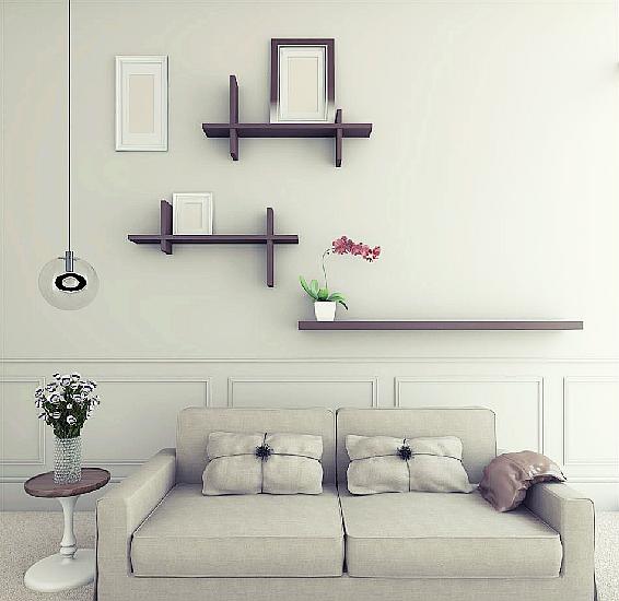 电视背景墙装饰架