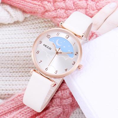 Simple fashion Xingyue female watch junior high school student watch girl waterproof quartz watch small fresh candy color watch