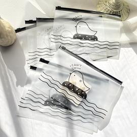 便捷透明灰黑首饰收纳袋耳环项链手链密封式袋子饰品包装小物件图片