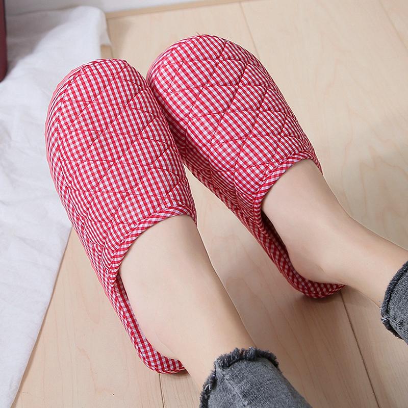 家居春秋四季男女居家客人防滑冬季保暖泡沫底防滑棉拖鞋