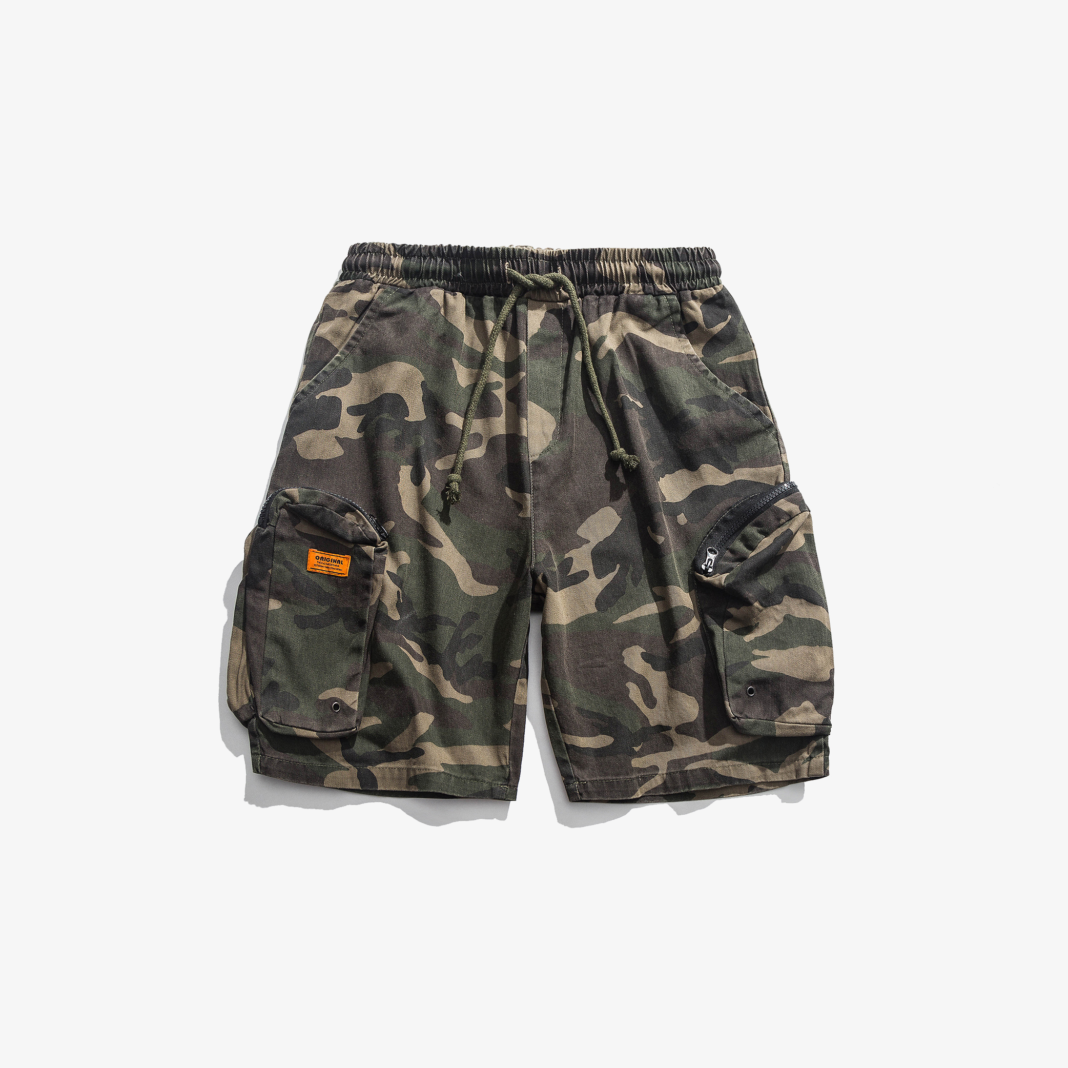Z30-p50 camouflage overalls mens shorts functional style Multi Pocket mens Pants Capris