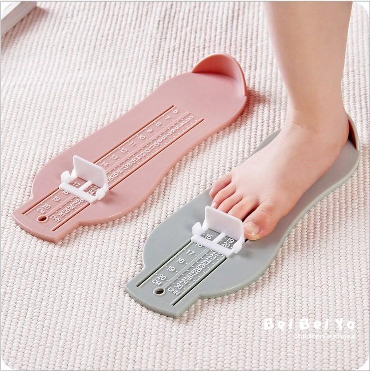 婴儿宝宝量脚器买鞋神器儿童量脚尺 测量脚长0-1-3-8岁与鞋包邮