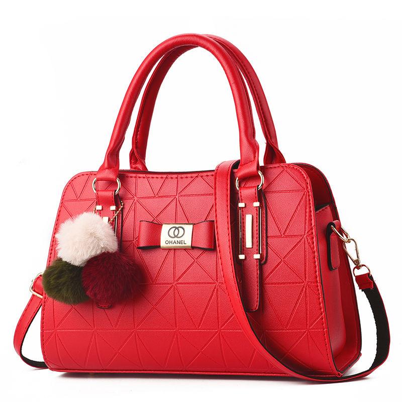 2包包女包2020新款时尚上班女单肩斜挎包欧美百搭手提包中年大包
