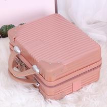 手提箱子小行李箱女可爱化妆箱14寸小型轻便韩版旅行箱迷你收纳包