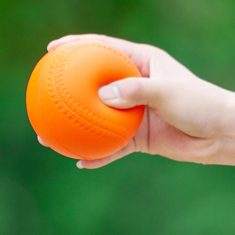 PU发泡球 PU高密度棒球 比赛训儿童 少年青年专用软式 小学生垒球