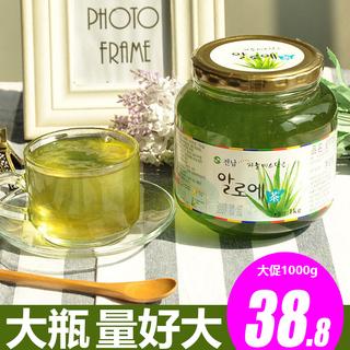 Медово-лимонный чай,  Импорт из южной кореи все южная мед алоэ чай 1kg ущерб от наводнения напиток из напиток статья джем фрукты чай лимон грейпфрут сын чай соус, цена 460 руб