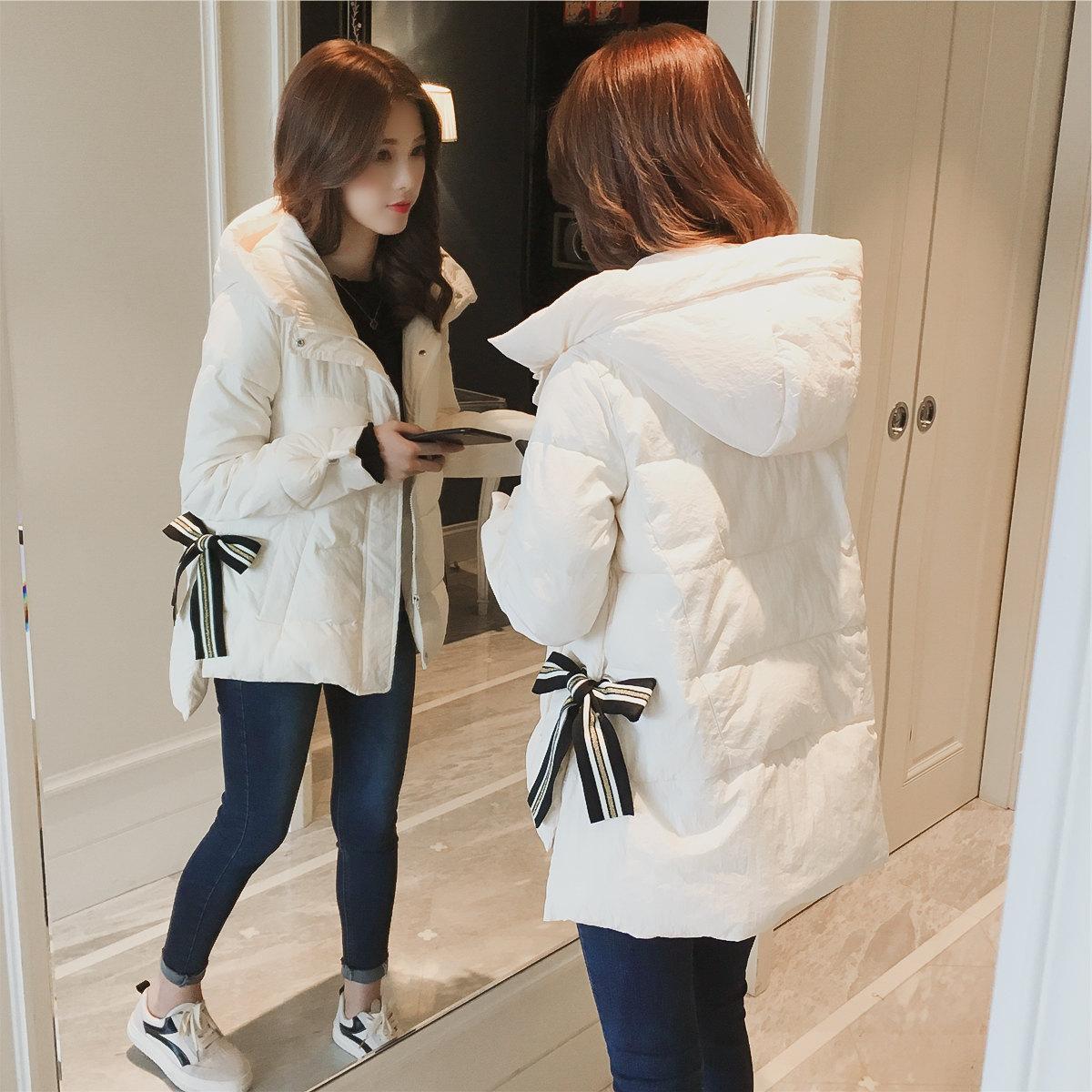 胖mm大码棉服2018秋冬新款女装加大码显瘦减龄200斤短款外套宽松