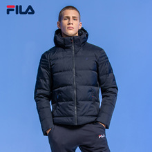 FILA Fila men's down jacket 2018 winter new sports casual white duck down warm down jacket men