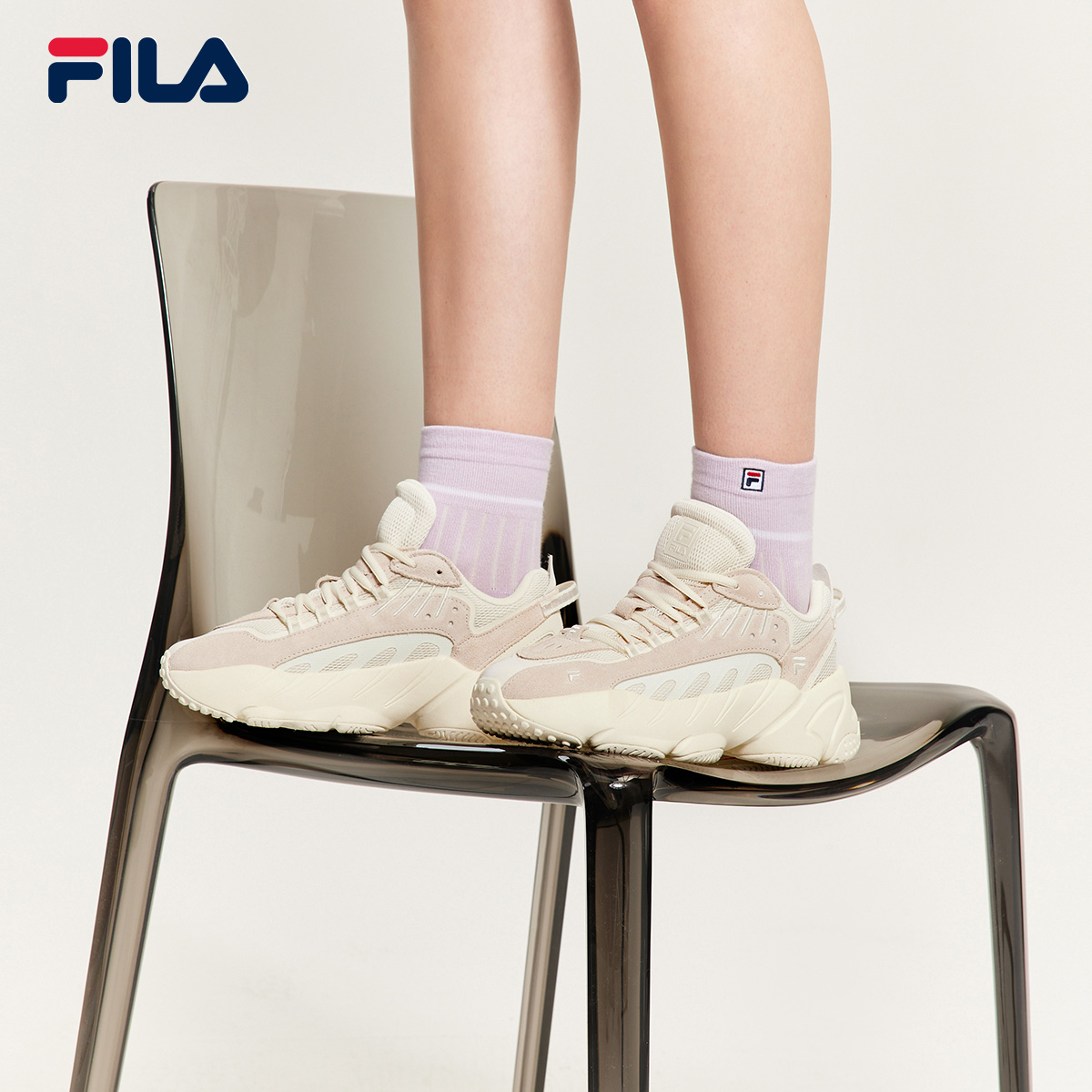FILA Fiile ADE couple old shoes 2021 spring and summer new men's shoes retro casual shoes sports shoes women