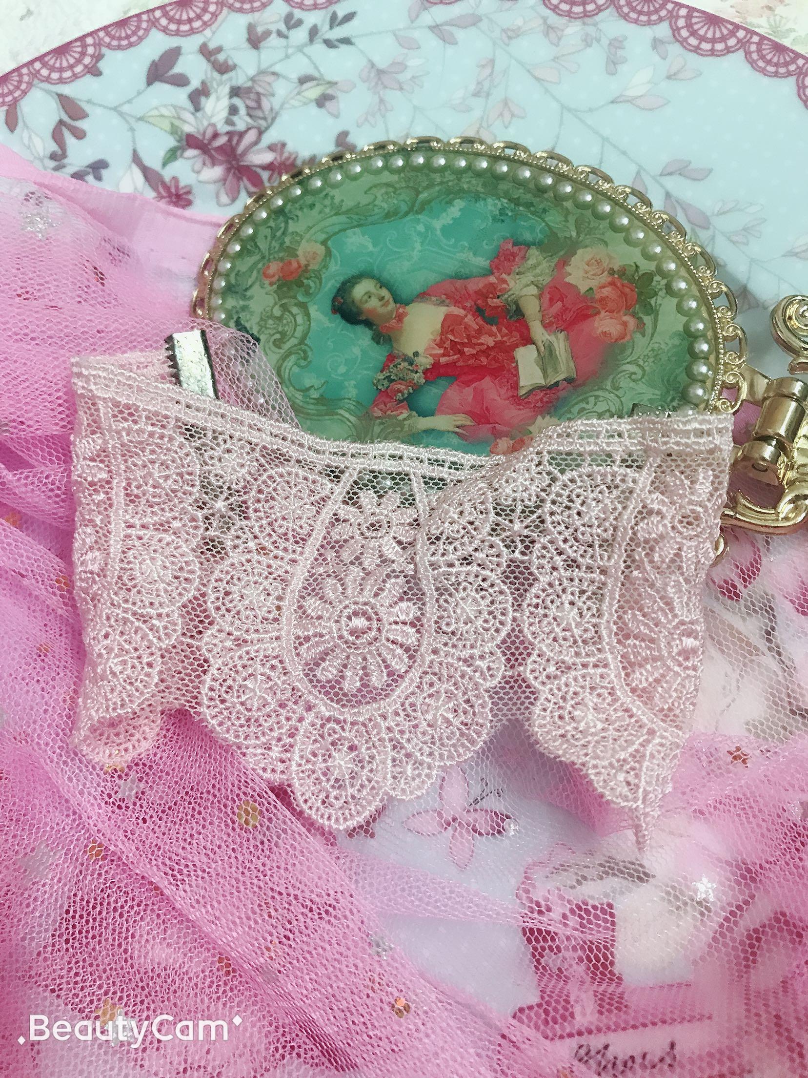 New style palace Lolita sweet girl lace lovely princess wide version bracelet bracelet female Bracelet accessories Bracelet