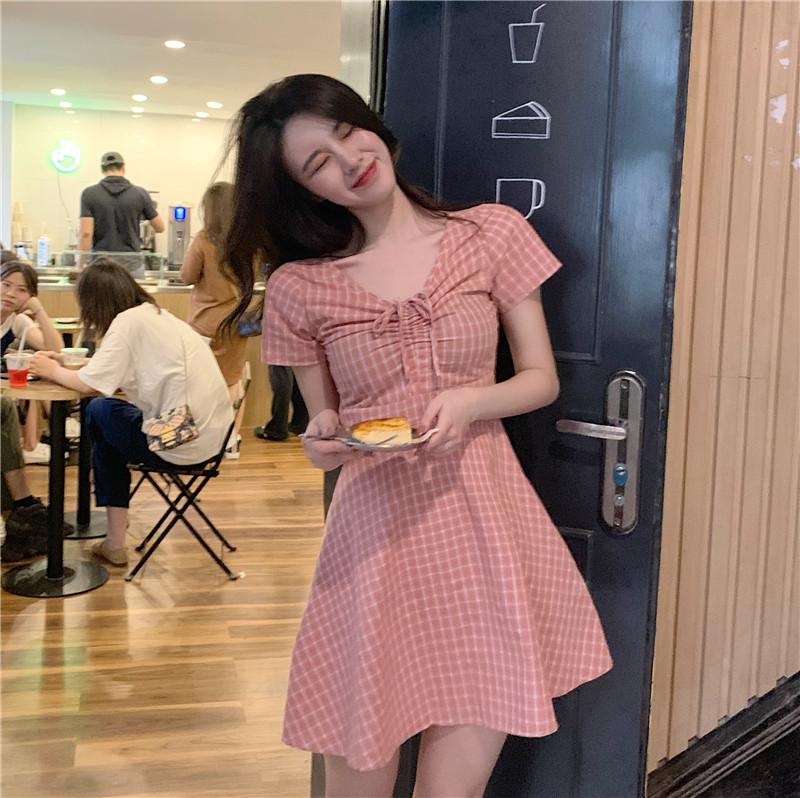 150cm瘦小初恋少女蝴蝶结xs连衣裙(非品牌)