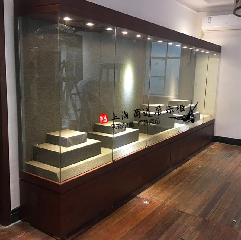 博物馆玻璃古董玉瓷器展示柜工艺品文物收藏陈列柜字画组合展示柜