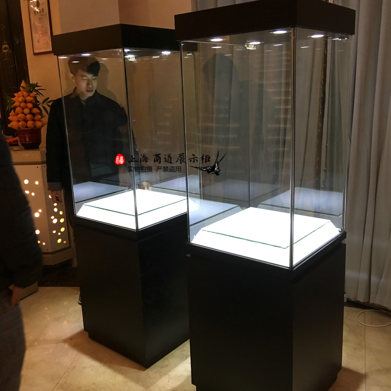 定制博物馆玻璃展柜珠宝展示柜古玩瓷器柜台古董收藏品文物陈列柜