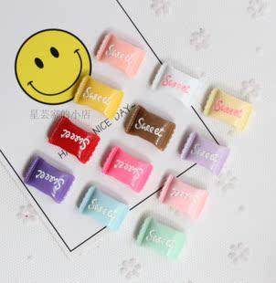 特价卡通糖果冰箱贴强磁贴立体树脂sweet love家居装饰黑板白板贴