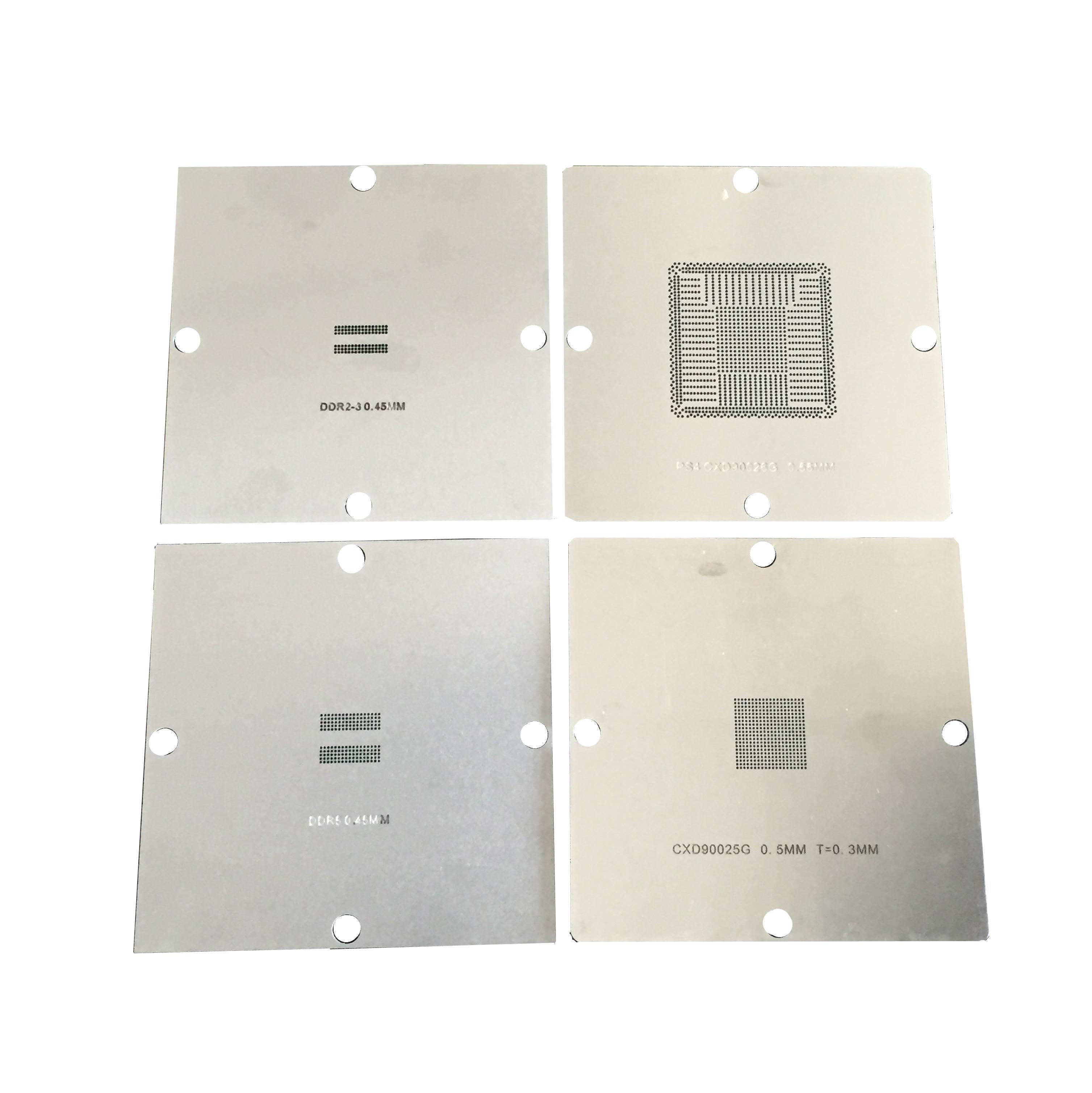新款游戏机钢网PS4 CXD90026G CXD90025G BGA植球钢网 植珠网可选