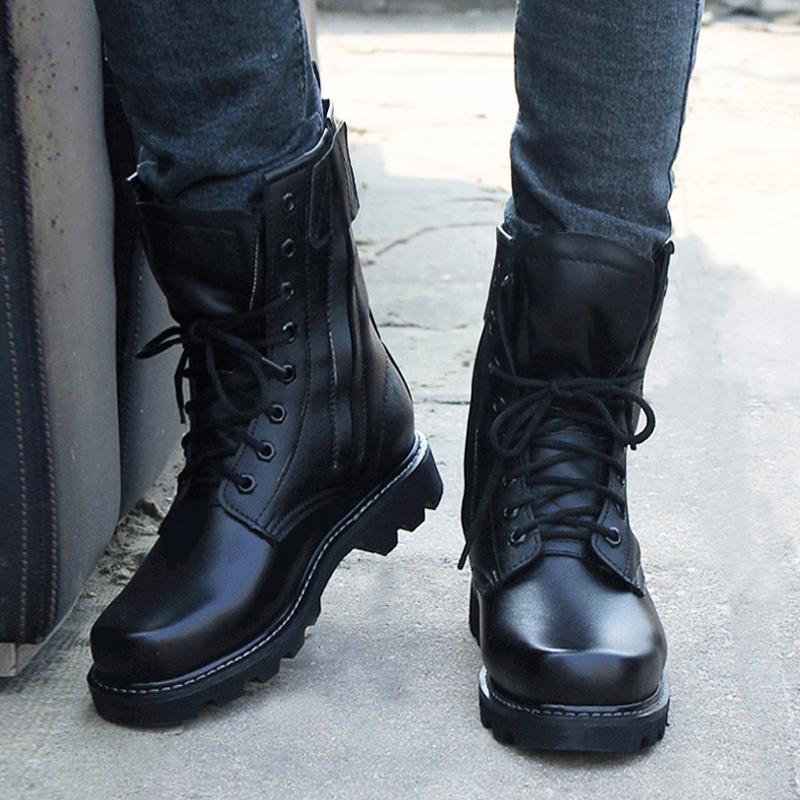 户外作战靴男军靴特种兵军迷战术靴子女冬季高帮陆战靴军鞋马丁靴