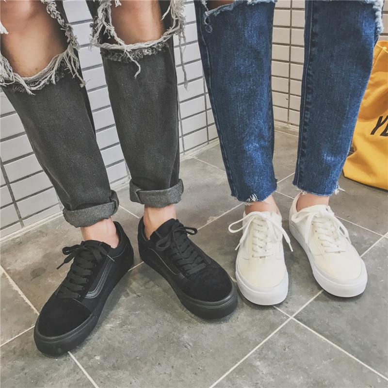 Весна любителей мужской и женщины твердый низкий обувной лес угол LES управлять T двориков обувь молодежь холст обувь casual волна