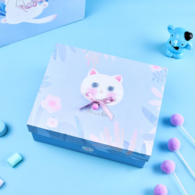 少女心生日可爱礼盒包装盒