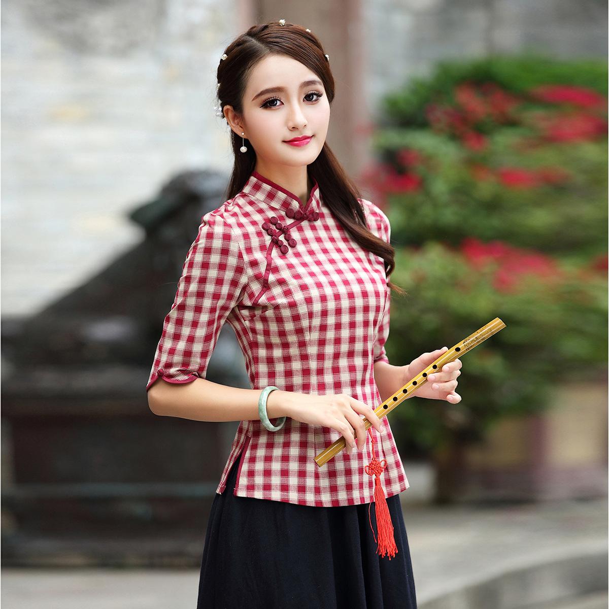 Новый весна женские модели костюм куртка люди национальные обычаи сетка cheongsam установите улучшение ретро институт ветер cheongsam куртка