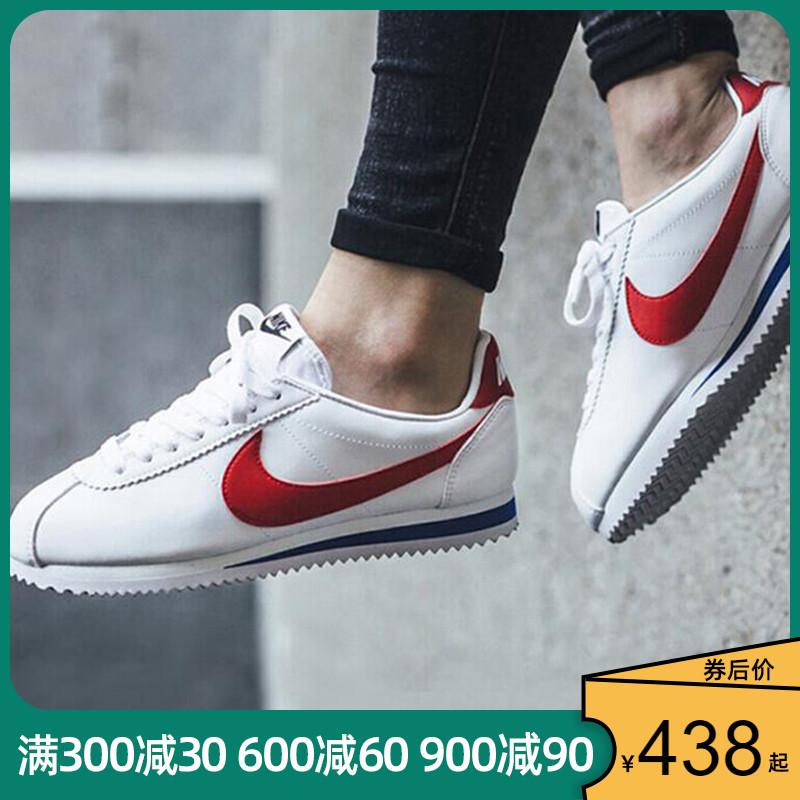 NIKE女鞋2020春新款经典阿甘小白鞋元年红休闲运动板鞋807471-103