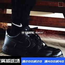 耐克Nike Air Force空军一号AF1全黑低帮男女板鞋休闲315122-001