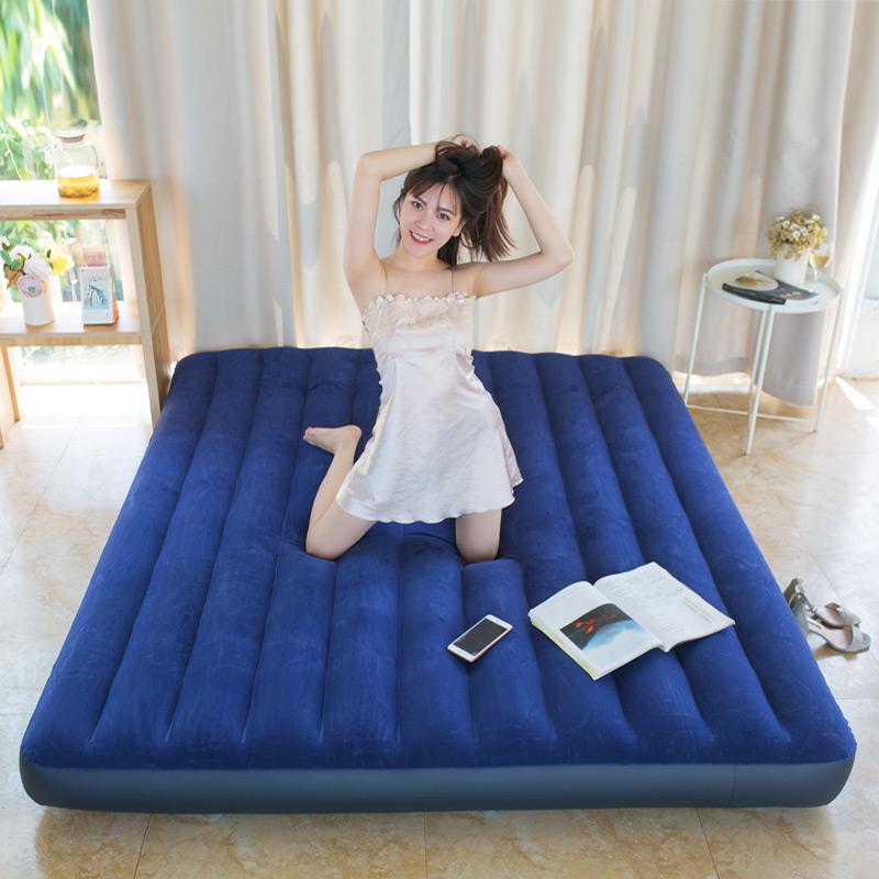 住宅家具气垫床双人家用充气床双人加大加厚充气床垫单人特价包邮