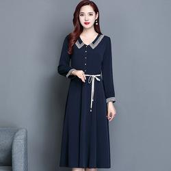 中高端欧韩时尚品牌女装美丽少妇女穿漂亮显瘦上档次国际范连衣裙