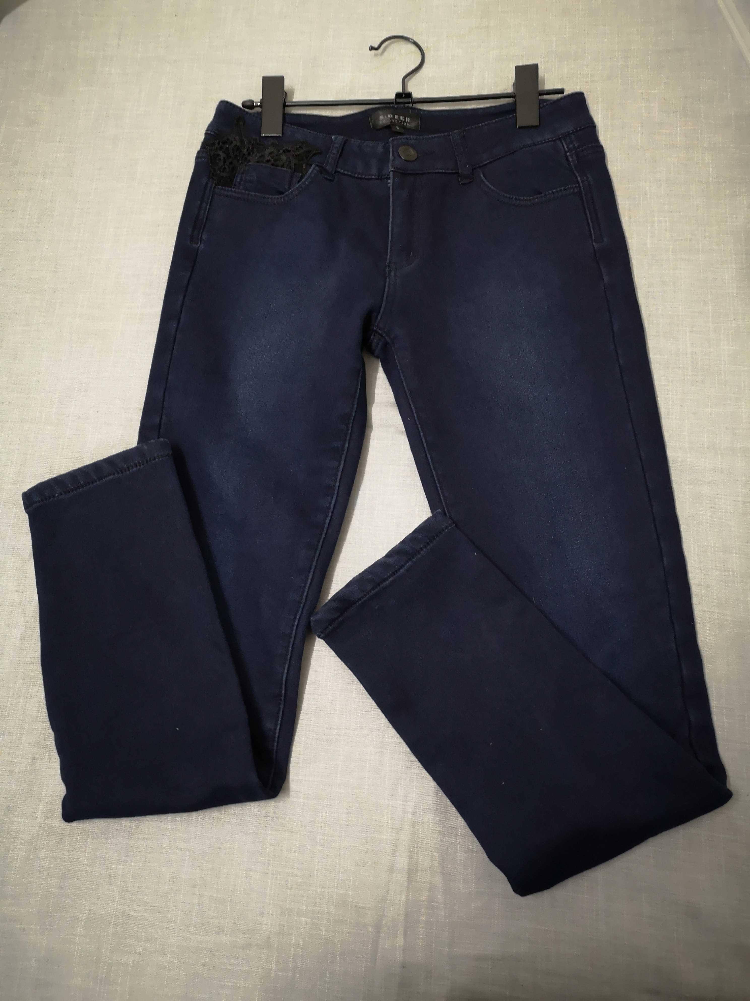 S新款免淘圣迪奥黑色偏小品牌折扣女款特卖加绒女裤长裤牛仔棉裤