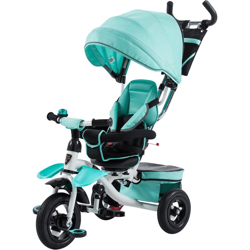 小虎子 新品寶寶三輪車自行車 座位轉向兒童三輪車童車免充氣957