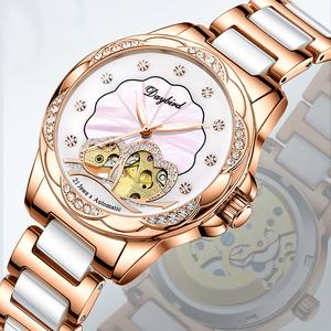 手表女2020年新款奢华简约气质名牌正品ins风防水全自动机械表图片
