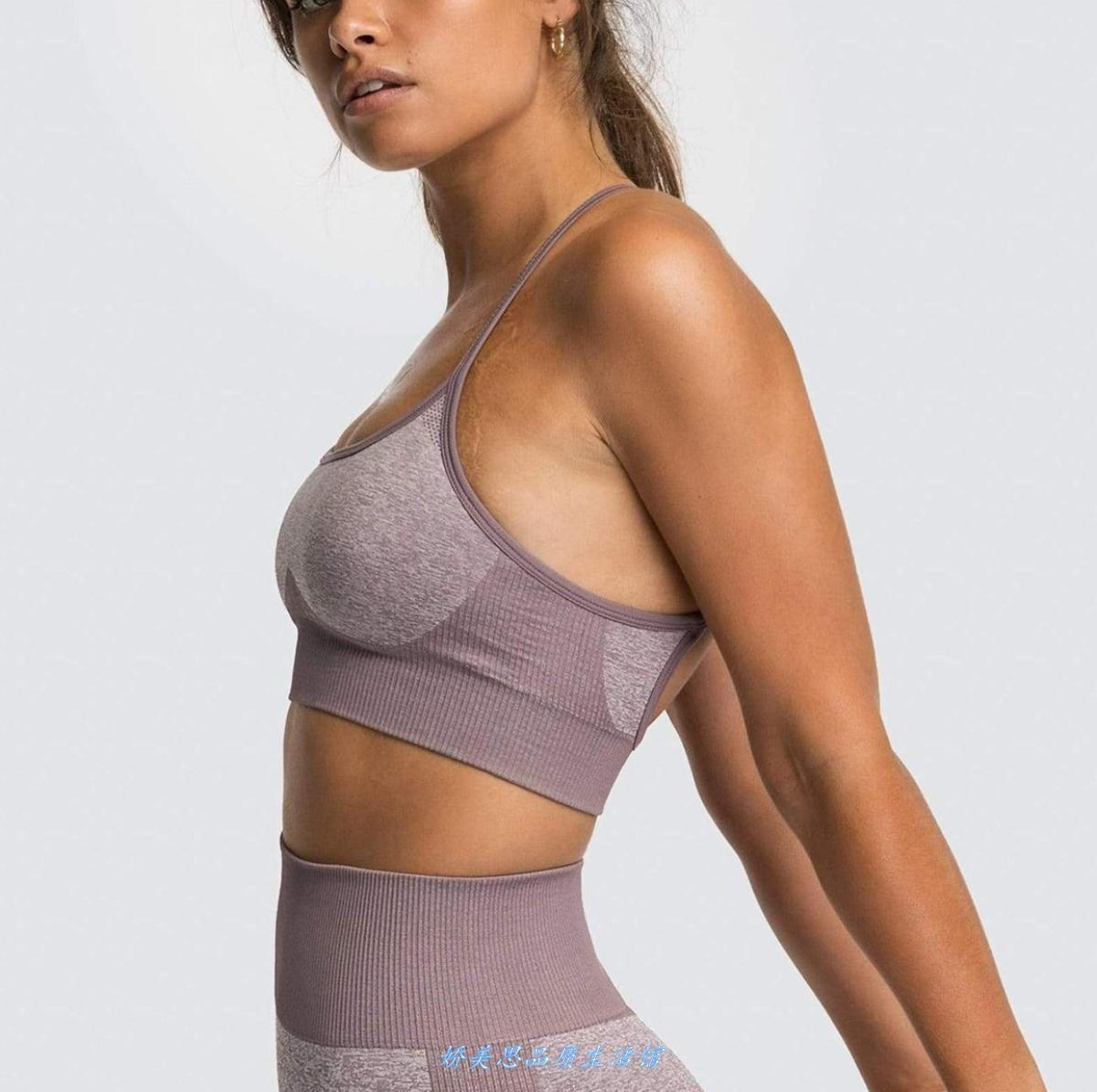 European and American quick drying Yoga vest multi color bea