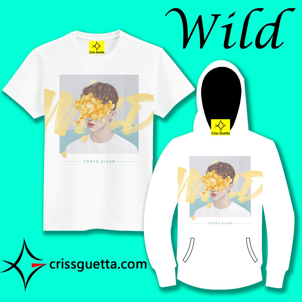 CG Troye Sivan Wild T恤短袖长袖卫衣外套衣服男女装春夏秋冬