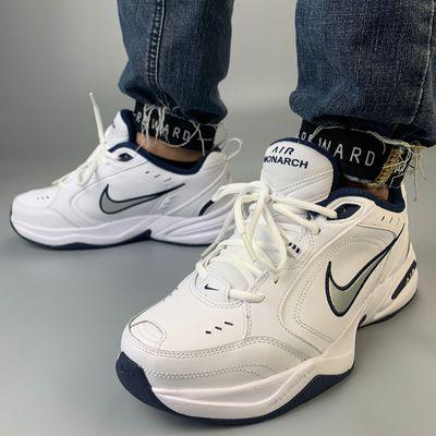 Nike Air Monarch M2K耐克男女鞋白蓝厚底老爹鞋跑步鞋415445-102