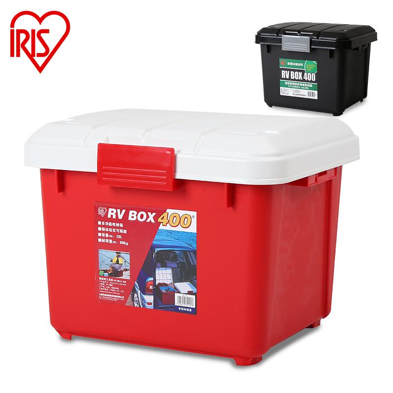 愛麗思IRIS汽車收納箱車載後備箱儲物箱車內雜物整理箱 RVBOX400