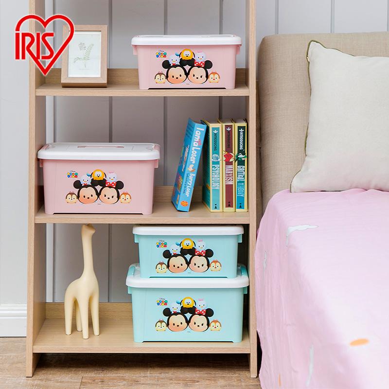 愛麗思IRIS環保塑料手提式化妝品奶瓶雜物收納箱儲物整理箱收納盒