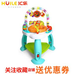 汇乐717蹦跳欢乐园跳跳椅宝宝跳跳弹跳椅婴儿健身架玩具3