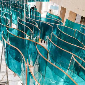 酒店大堂水晶灯工程灯创意个性楼梯灯售楼部沙盘大厅别墅定制吊灯