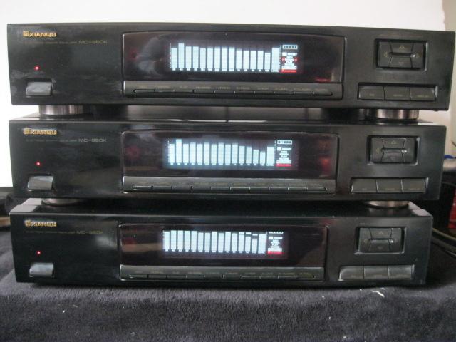 二手原装先锋国内代工先驱MC--960K15段频谱显电调均衡器包邮