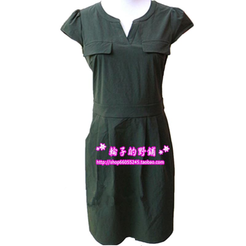 2017年夏装新款 语霏驰/弛Y178X-L170 韩版修身短袖收腰连衣裙