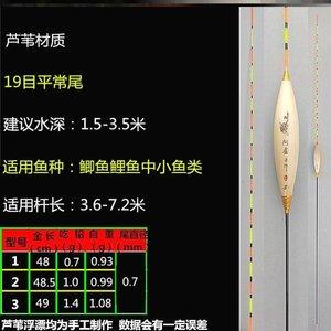 特价阿卢芦苇漂 A31A15C01醒目鲫鱼鲤鱼综合混养浮标垂钓用品